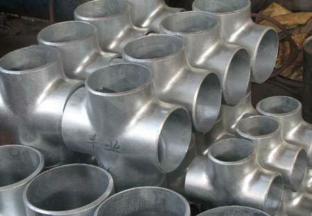 4 way pipe fitting