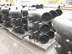 welded 90 deg large diameter LR elbows