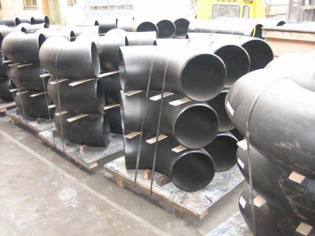 Welded 90 Deg Large Diameter Lr Elbows Hebei Cangzhou