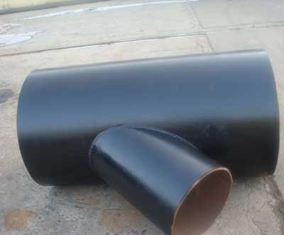 carbon steel y pipe fitting