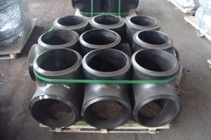 carbon steel pipe saddle tee